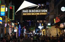 Pedestrian street undergoes facelifts to lure visitors