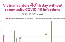 Vietnam enters 47th day without community COVID-19 infections