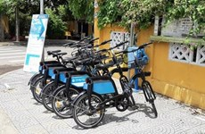 Bicycle sharing finds favour in Vietnam