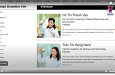 Three Vietnamese female scientists in Top 100 Asian researchers