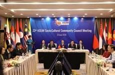 ASEAN Socio-Cultural Community convenes