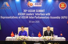 ASEAN leaders' interface with AIPA representatives
