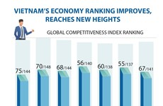 Vietnam's economy ranking improves, reaches new heights