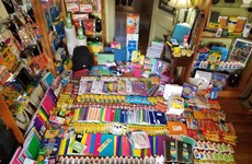 Made-in-Vietnam stationery winning customers' hearts