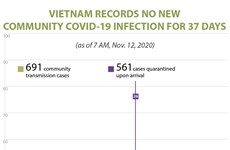 Vietnam records no new community covid-19 infection for 37 days