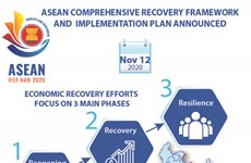 ASEAN comprehensive recovery framework and implementation plan announced