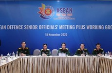 ASEAN Defence Senior Officials' Meeting Plus Working Group held online