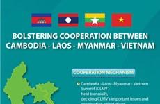 Bolstering cooperation between Cambodia-Laos-Myanmar-Vietnam