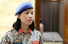 Vietnamese women affirm position in UN peacekeeping missions