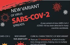 New variant of virus SARS-COV-2 spreads