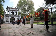 Hanoi re-opens religious establishments, relic sites
