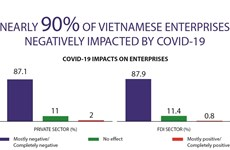 Nearly 90% of Vietnam enterprises impacted by COVID-19
