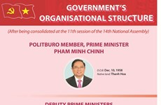 Organisational structure of Government