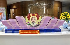 Books on election on display in Quang Ninh province