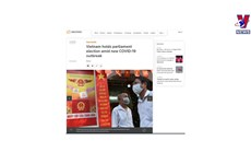 Int'l media spotlight Vietnam's general elections
