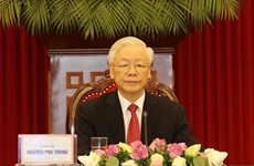 Party leader attends CPC and World Political Parties Summit