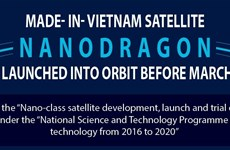 Made-in-Vietnam satellite NANODRAGON to be launched into orbit before March 2022