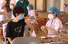 4,000 foreigners vaccinated in Hanoi