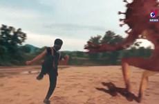 Ethnic man makes film on COVID-19 fight