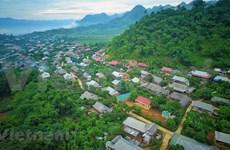 A peaceful Thai ethnic village in Moc Chau