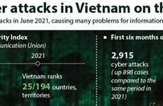 Cyber attacks in Vietnam on the rise