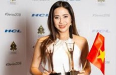 Vietnamese stage director bags two Stevie Awards
