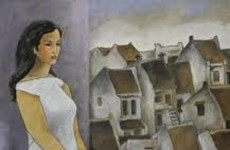 Paintings depict expatriate's memory of homeland