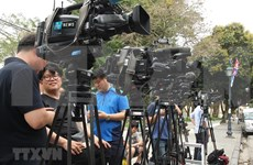 Foreign journalists arrive in Vietnam for US - DPRK summit