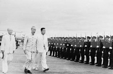 Photos of President Ho Chi Minh's DPRK visit in 1957