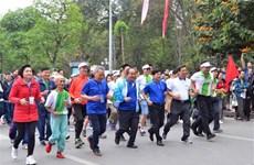 Hanoi Olympic Run Day draws over 8,000 runners