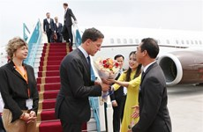 PM of Netherlands begins official visit to Vietnam