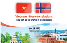 Vietnam, Norway expected to enhance cooperation