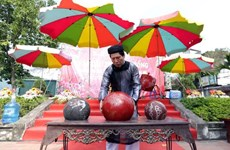 Traditional culture preserved: a lens through ball wrestling