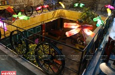 Café brings life to recycled goods in Hanoi