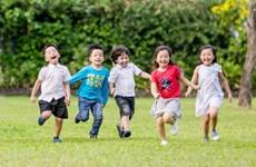 Urban kids enjoy green summer holidays