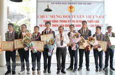 Vietnam wins 7 medals at int'l astro olympiad