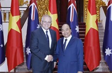 PM welcomes Australian counterpart