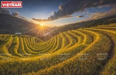Photographer keens on capturing landscape moments