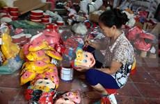 Mid-Autumn toy making village in Hung Yen
