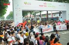 """Run for the heart"" event attracts 15,000 participants"