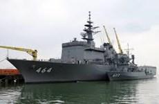 Japan Maritime Self-Defense Force's minesweepers visit Da Nang