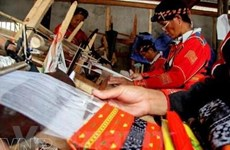 Ethnic women uphold traditional brocade weaving