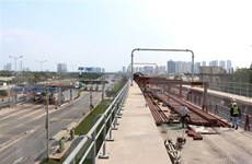Construction of Ho Chi Minh City's metro line sped up
