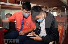 Compulsory health declaration for passengers on public transport