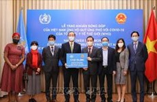Vietnam contributes 50,000 USD to WHO's COVID-19 response fund