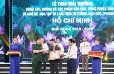 Awards promote studying and following Ho Chi Minh's ideology