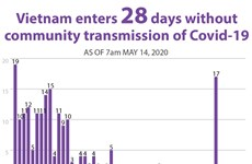 Vietnam enters 28 days without community transmission of Covid-19