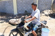 Ninh Thuan supports people in need of fresh water