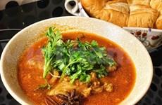 Vietnamese beef stew in red wine sauce