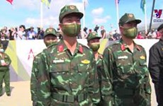 Vietnam makes impression at opening of Army Games 2020